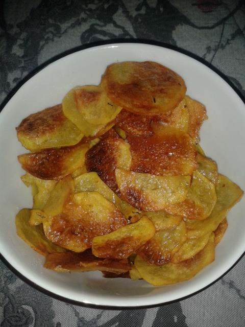 Selbstgemachte Chips