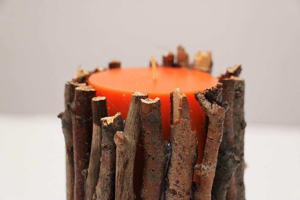 Kerze Äste 4