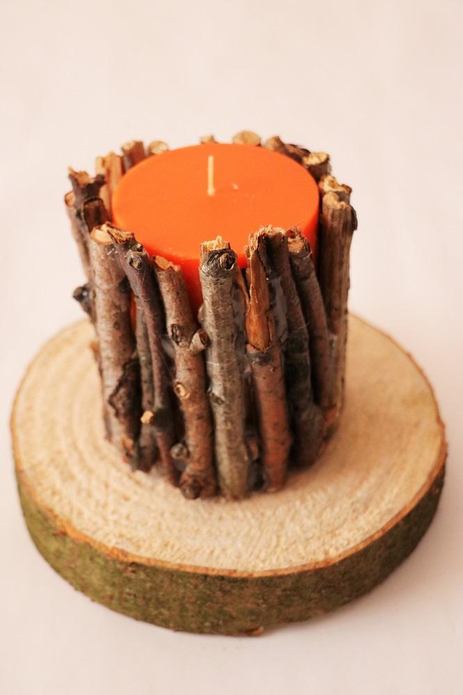 Kerze Äste 5
