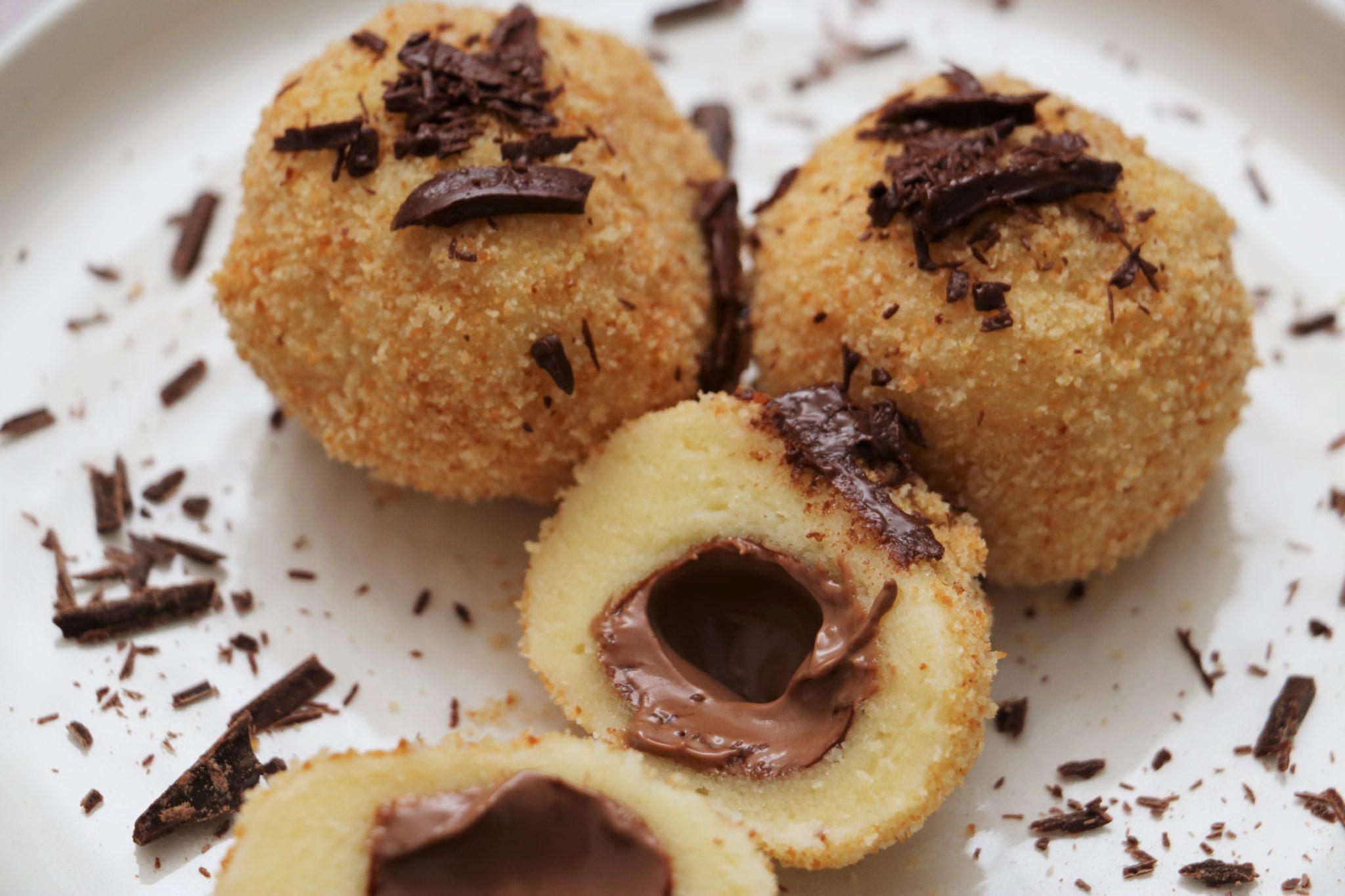 Schokolade Knödel 3