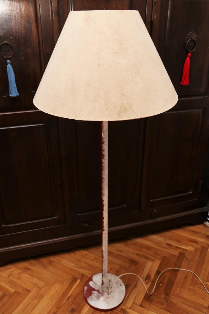Stehlampen-Vergoldung 1