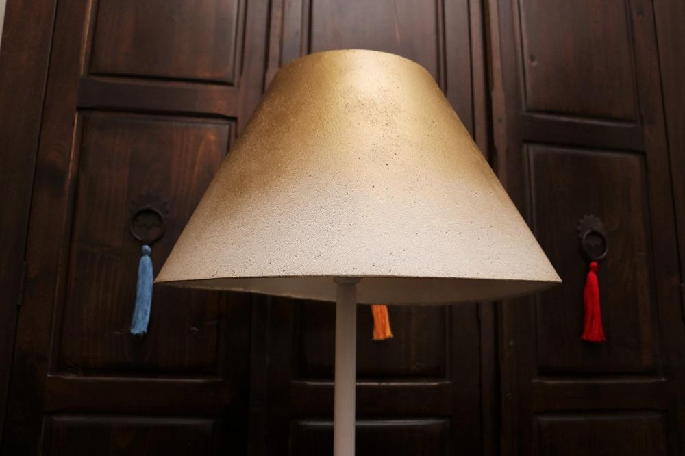 Stehlampen-Vergoldung 5