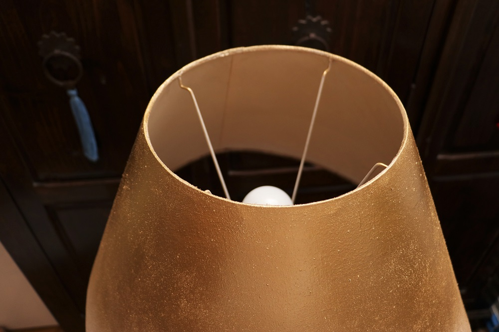 Stehlampen-Vergoldung 7