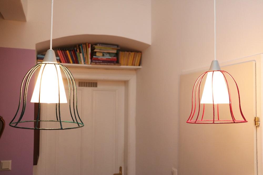 Abgezogene Lampenschirme 6