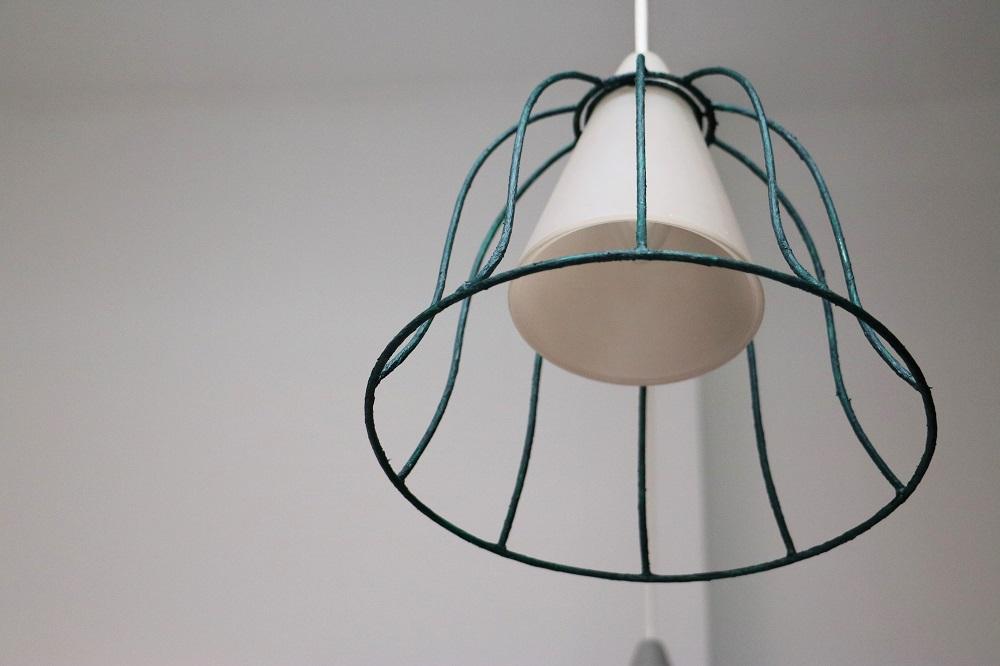 Abgezogene Lampenschirme 8