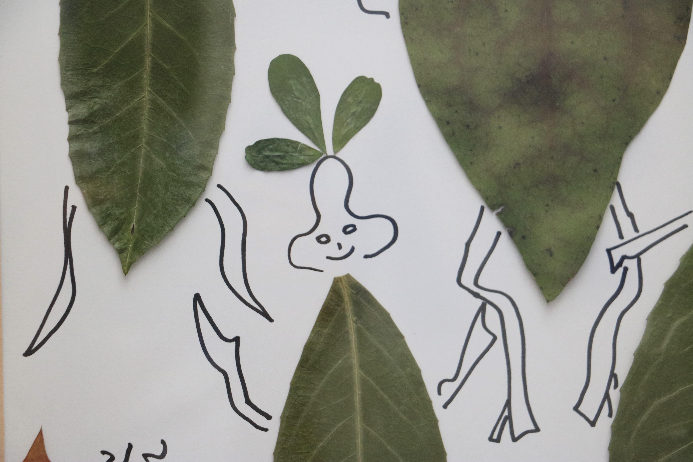 Blätterfiguren 6