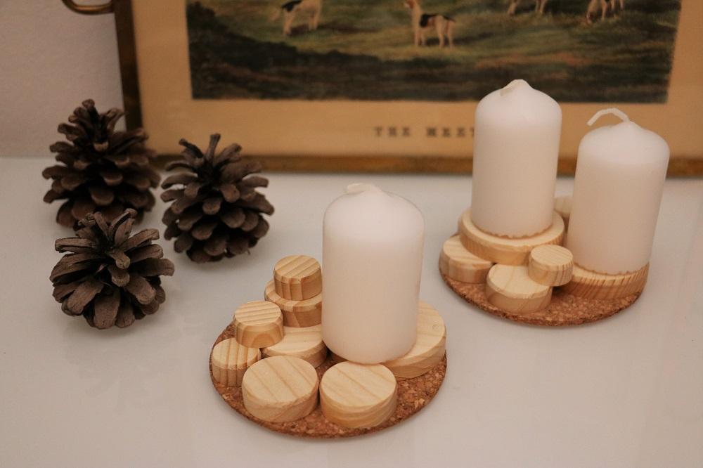 Kerzen Holzscheiben 1.3