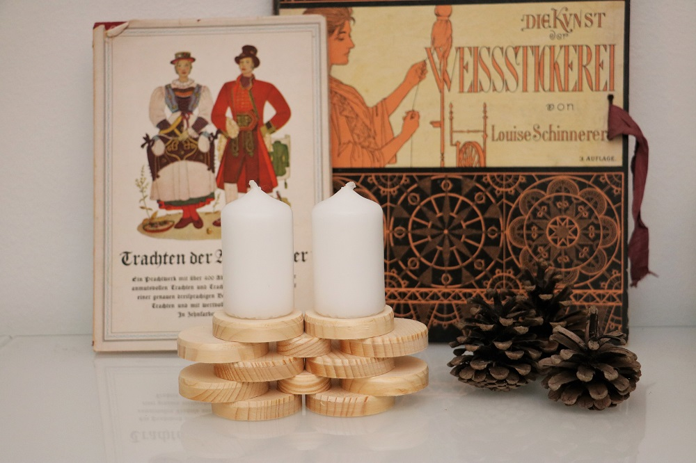 Kerzen Holzscheiben 2.2