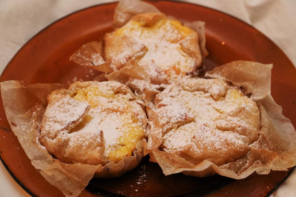 Orangen Topfen Tartelettes 1