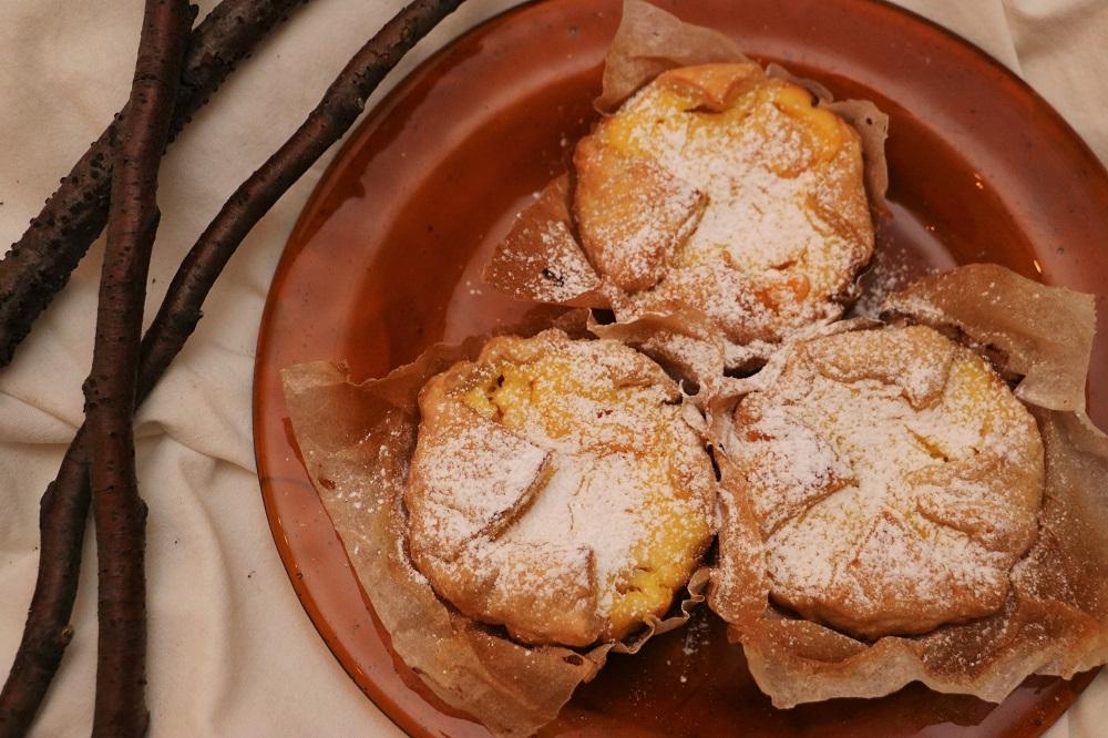 Orangen Topfen Tartelettes 3