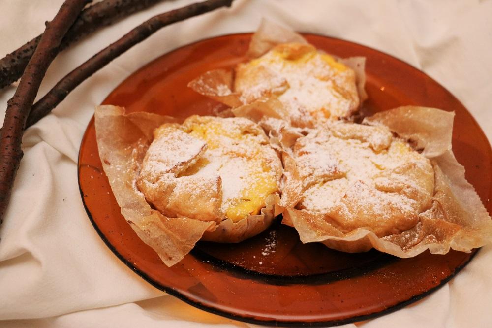 Orangen Topfen Tartelettes 4