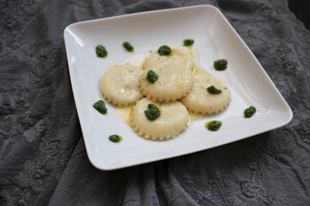Bärlauch Pesto Ravioli 2