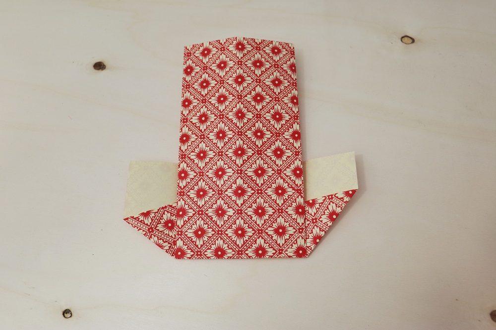 Origami Papierhülle 10