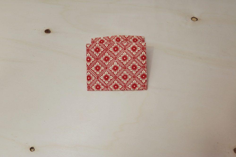 Origami Papierhülle 12
