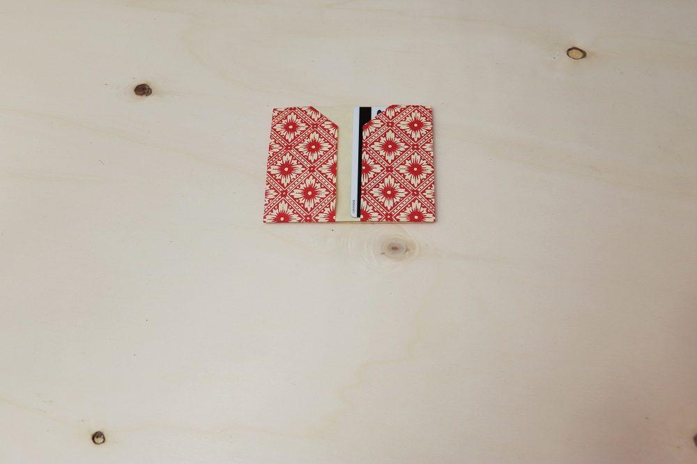 Origami Papierhülle 15