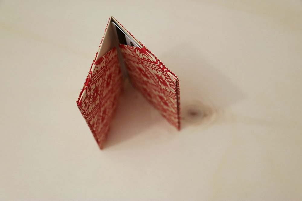 Origami Papierhülle 18