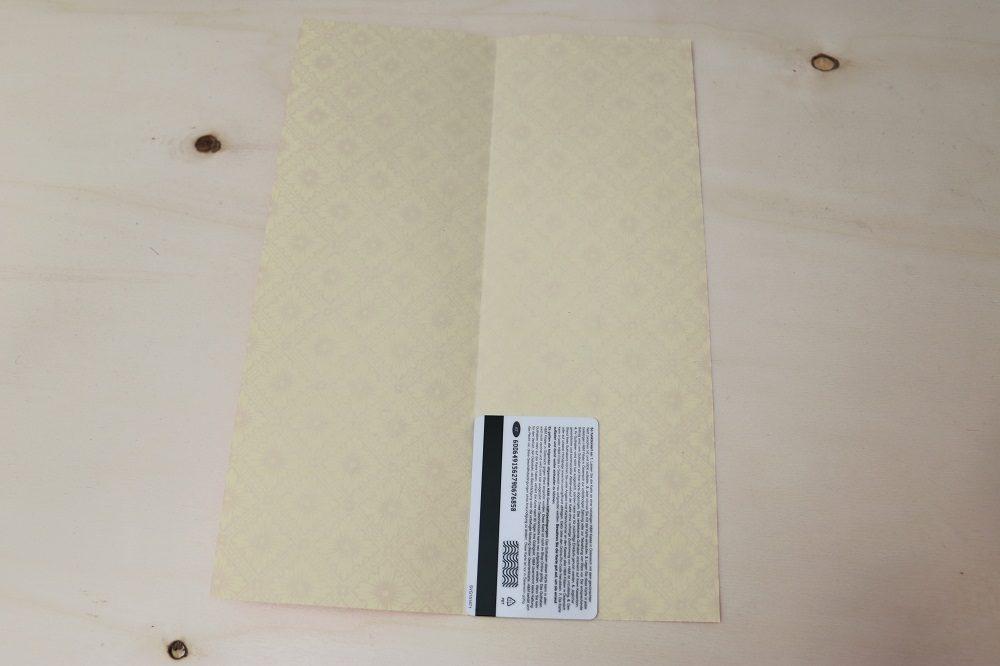 Origami Papierhülle 3