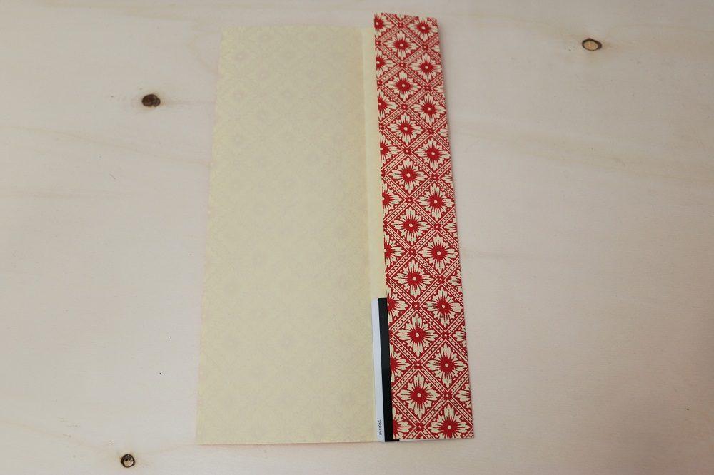 Origami Papierhülle 4
