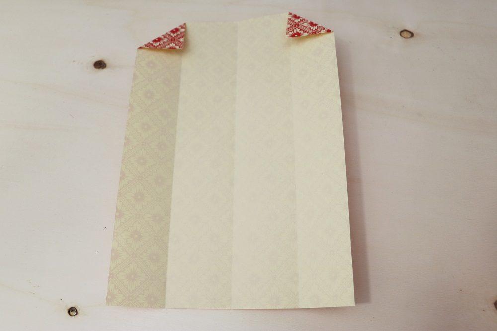 Origami Papierhülle 6