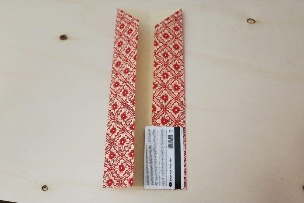 Origami Papierhülle 7