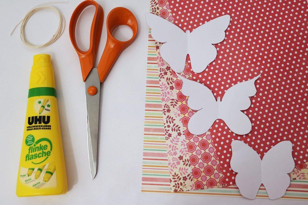Schmetterlingsgirlande 6