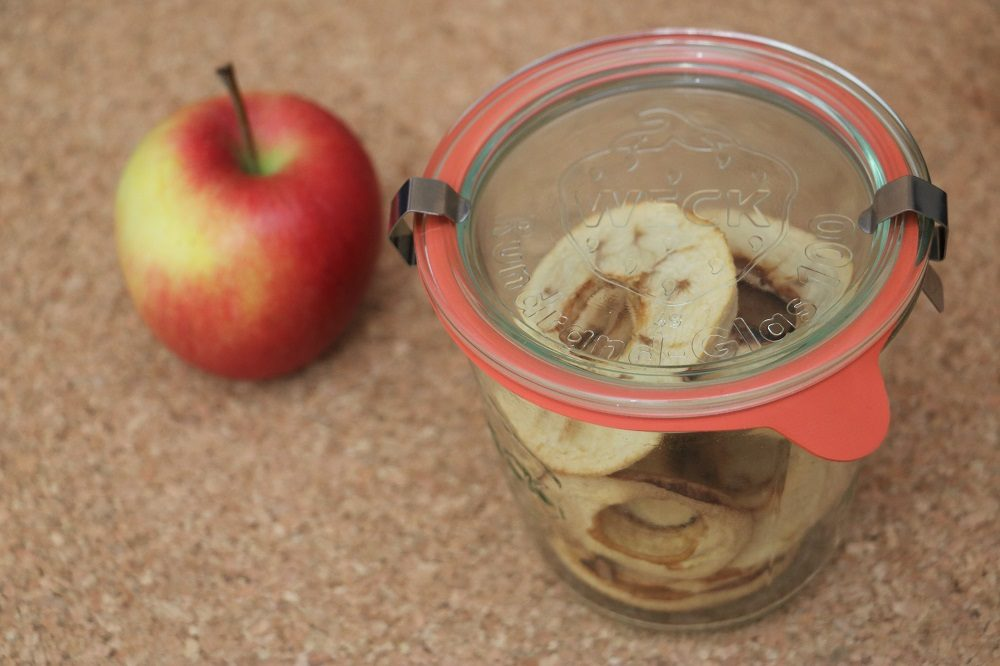 getrockente Apfelringe 1