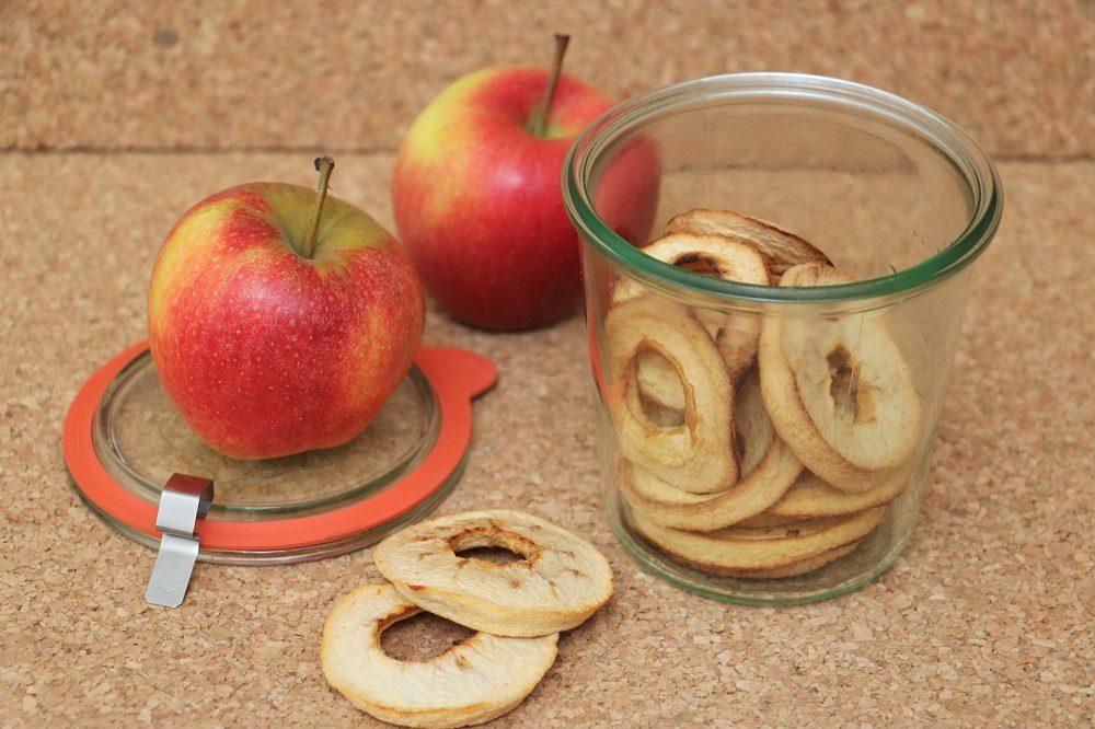getrockente Apfelringe 2