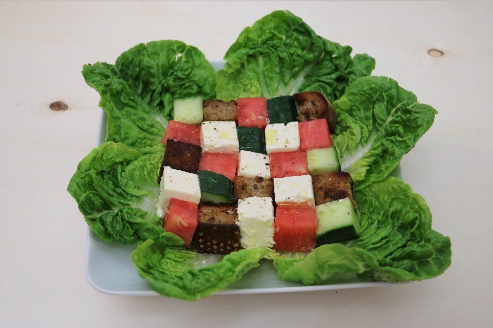 Wassermelonen Salat 1