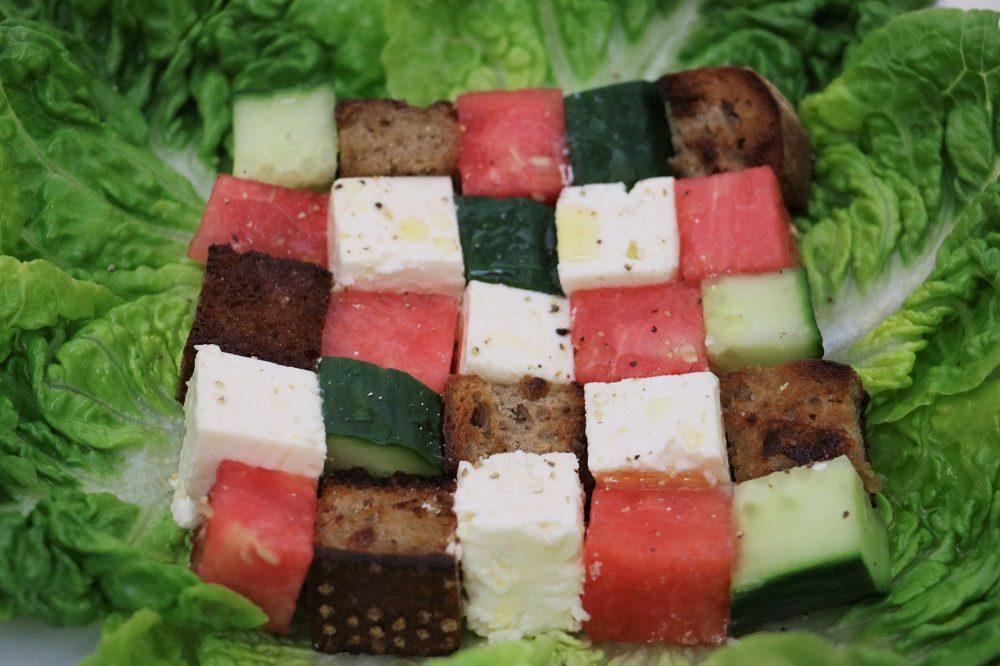 Wassermelonen Salat 2