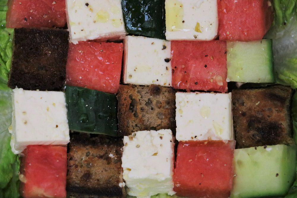 Wassermelonen Salat 4