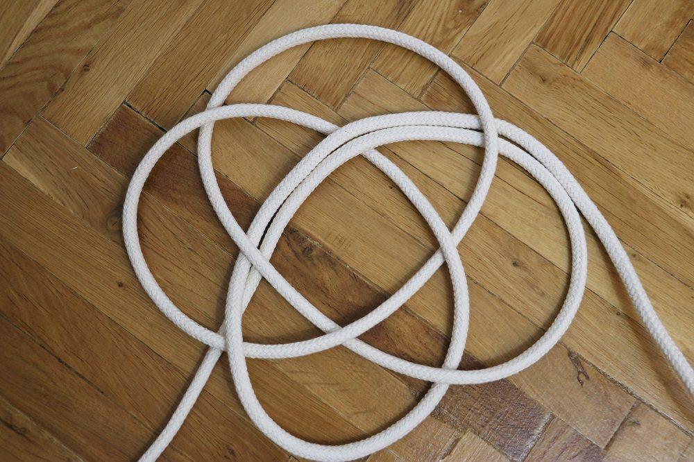 Knoten Untersetzer 1