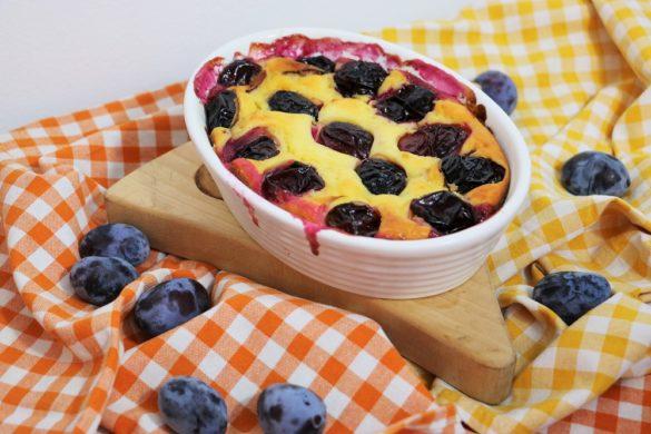 Topfen-Zwetschgenkuchen 1