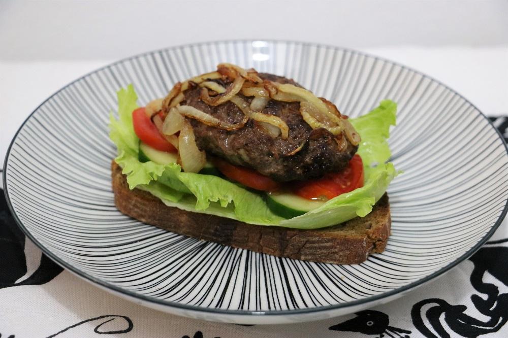 Fleischlaberlsandwich 4