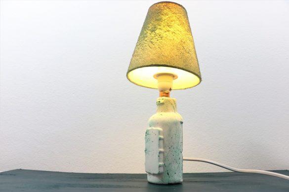 Shampooflaschen-Lampe
