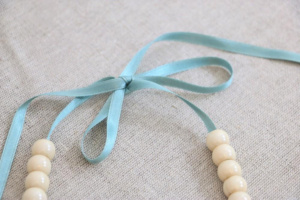 sommerliche Perlenkette