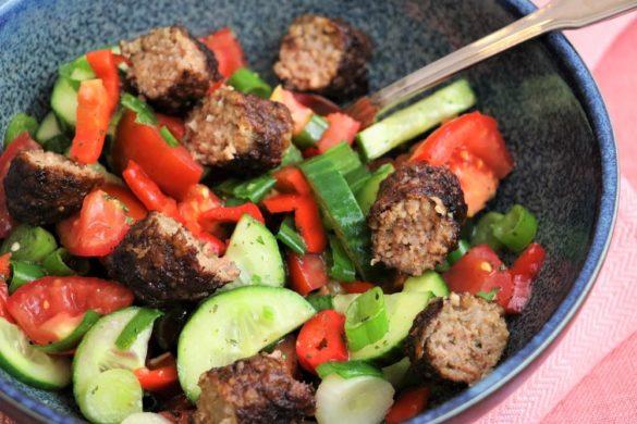 Grill-Reste Salat