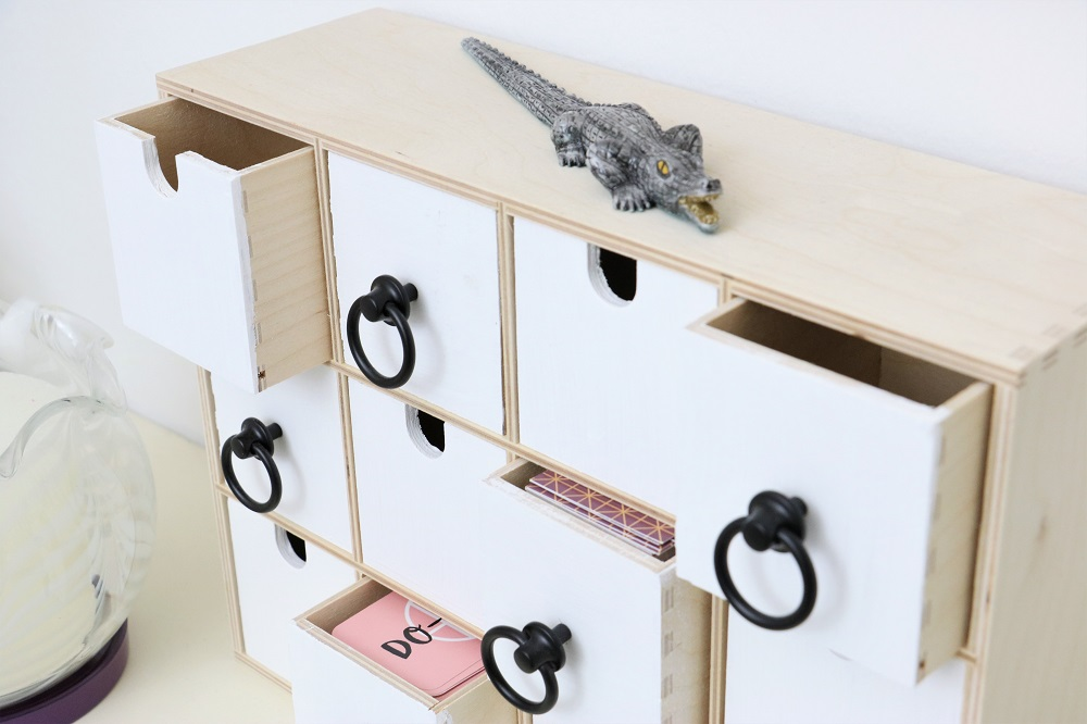 Ikea Hack Schickes Upcycling Einer Mini Kommode Do Iteria