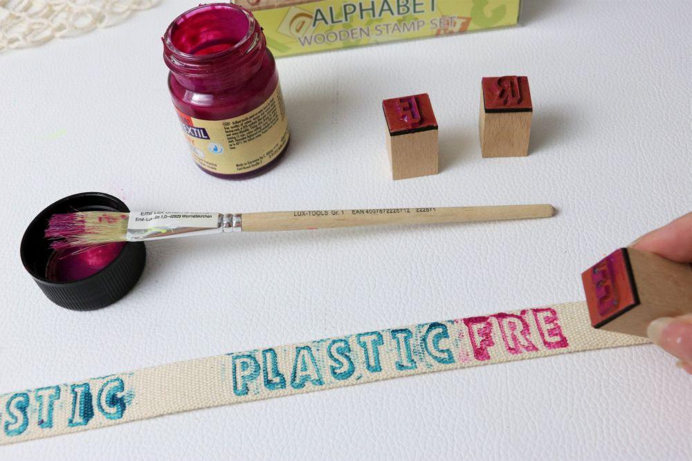 Plastic free Sackerl Making-of