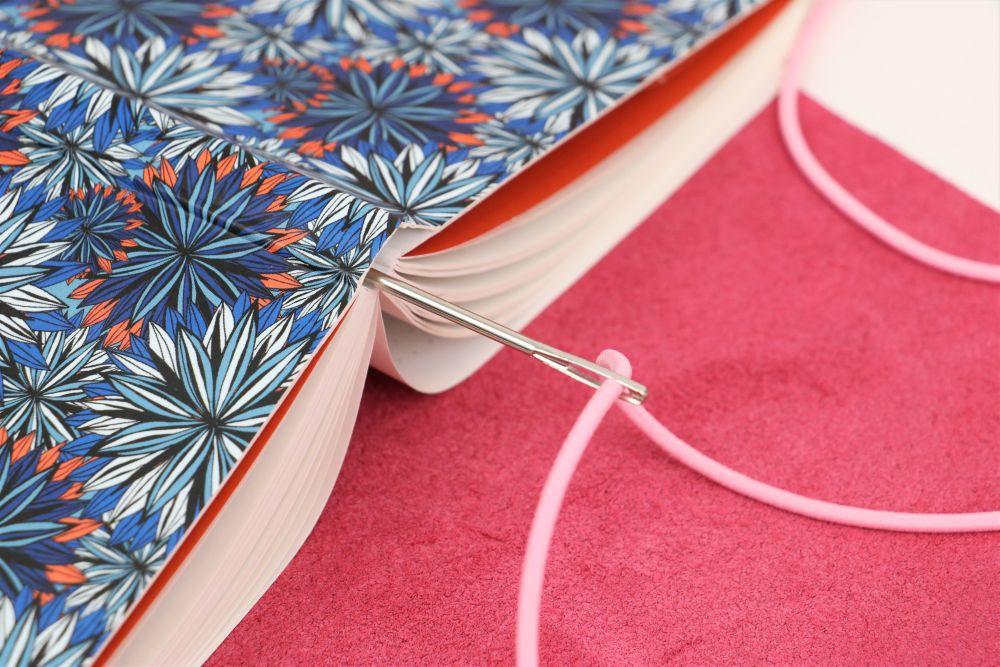 schneller Ledereinband ohne Nähen