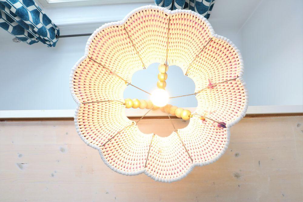 Upcycling: gewebter Seillampenschirm | DO ITeria