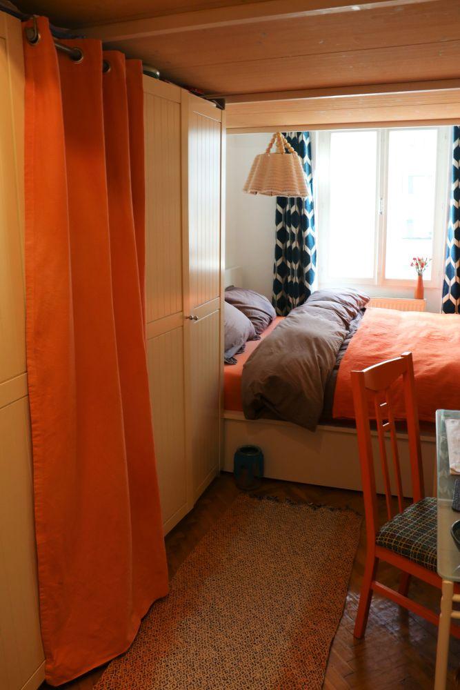 herbstliche Schlafzimmer Umgestaltung