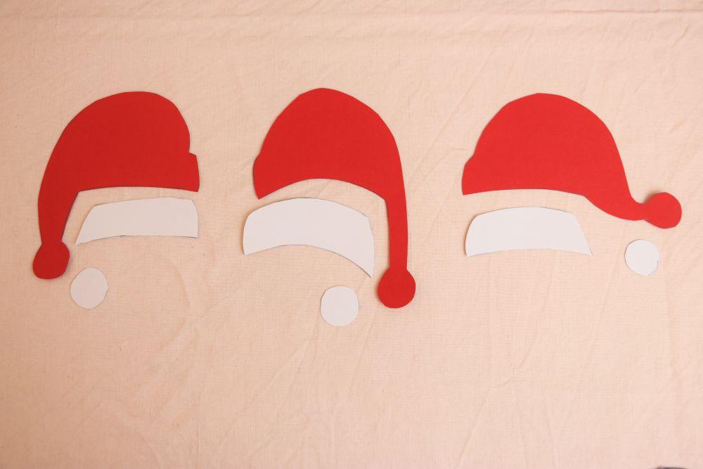 Weihnachtsmütze für deine Tierposter making of